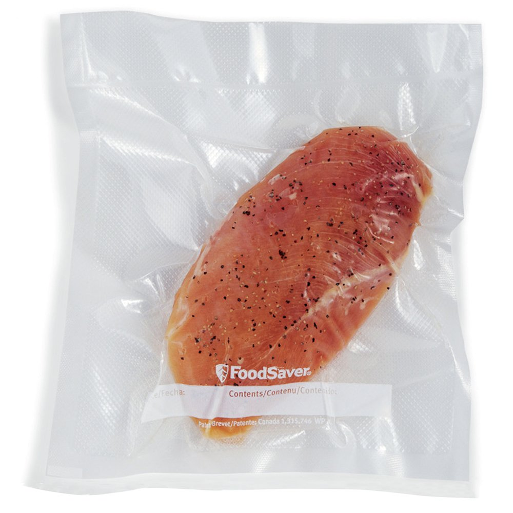 FoodSaver 1-Quart Precut Vacuum Seal Bags with BPA-Free Multilayer Construction for Food Preservation, 44 Count by FoodSaver (Image #2)