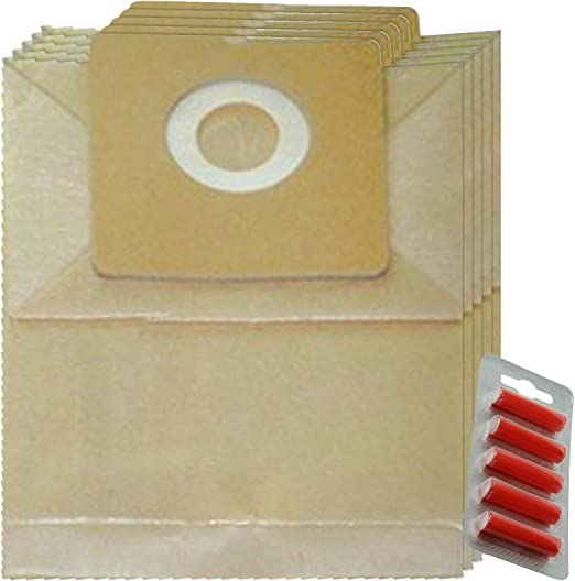 Spares2go - Bolsas de Polvo para aspiradora Amazon Basics 1,5 L ...