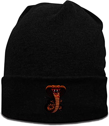 Snake Head Beanies Knit Hat Ski Caps Mens