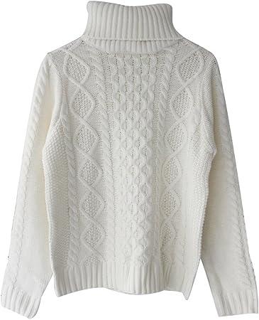 Suéter de diseño estrecho, de cuello alto, clásico e intemporal, cómodo y elegante.,Características: