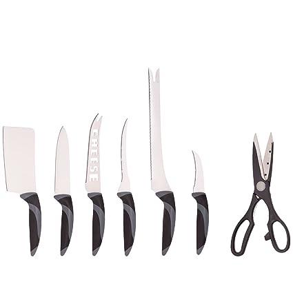 Compra Ceramicle-Juego de cuchillos acero inoxidable y ...