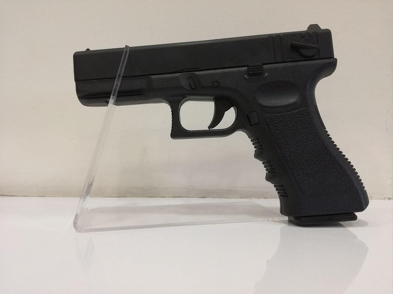 GLOCK 18 negra corredera de metal potencia <0,5 joules. 6mm muelle