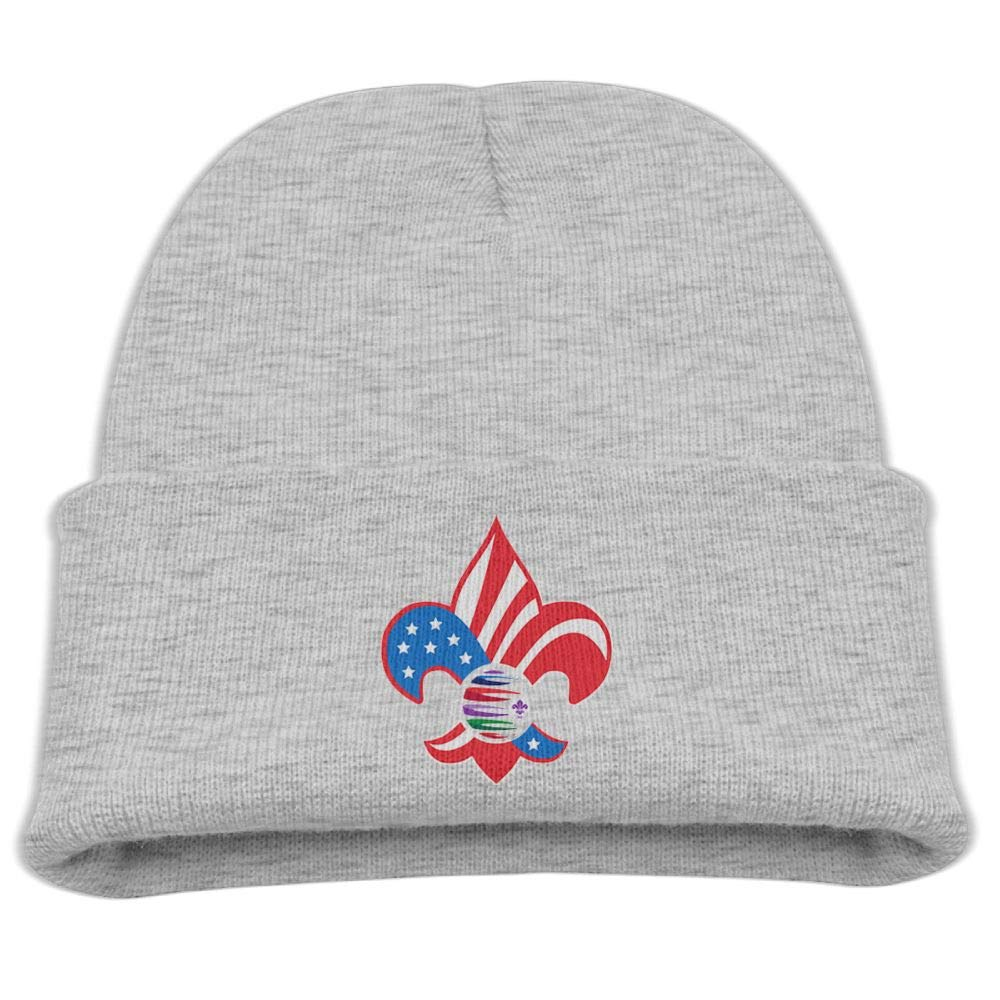 Banana King Scouts of America Baby Beanie Hat Toddler Winter Warm Knit Woolen Cap for Boys//Girls