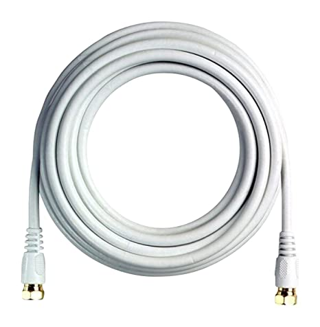 BoostWaves BW100W 50 High Definition HDTV White Coaxial Cable, Low Loss