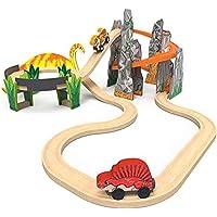 KidKraft Adventure Tracks Dinosaur World Volcano Escape