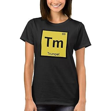Amazon zazzle womens basic t shirt tm trumpet music zazzle womens basic t shirt tm trumpet music chemistry periodic table symbol t urtaz Images