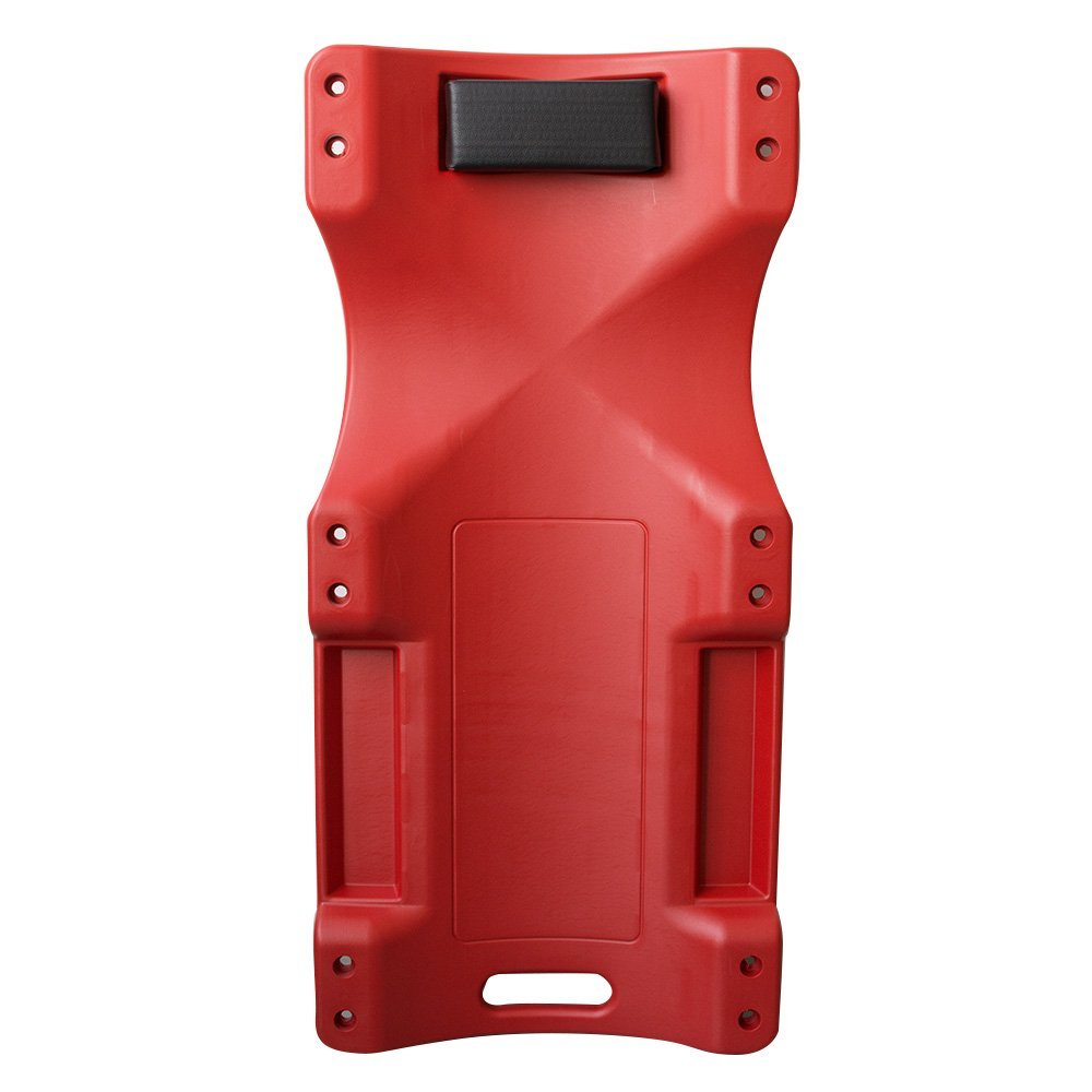 Low Profile Creeper Car Mechanic Automotive Floor Garage Big Red Plastic