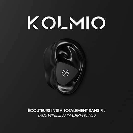 Ryght KOLMIO Ecouteurs intra auriculaires sans fil Bluetooth