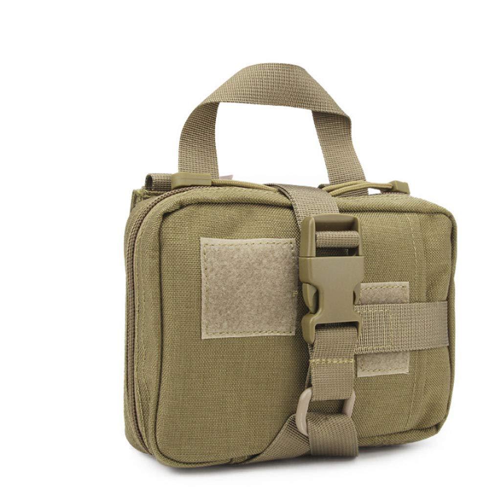 Zxcvbn Überlebensrettungsmedizinische Medizinische Ausrüstung der Tragbaren Tasche des Tragbaren Überlebens des Feldes Im Freien,Farbedebarro