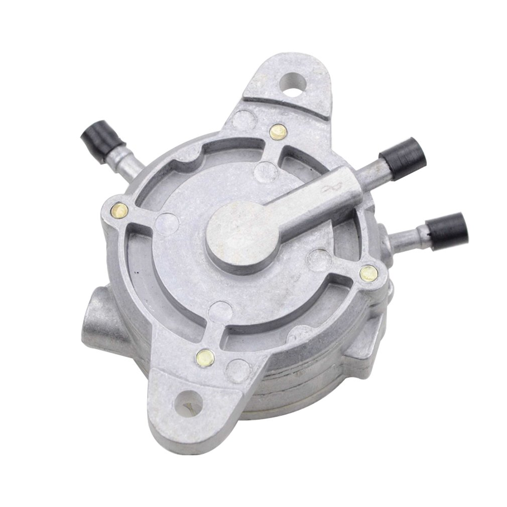 GOOFIT 3 Outlet Vacuum Fuel Pump for GY6 CF150 CF250 Honda Helix CN250 Elite CH150 CH250 Roketa Baja Hammerhead 250 Water Cooled Scooter Moped ATV by GOOFIT