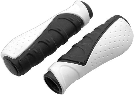 VELO - 562BL : Puños Confort ergonomico bicolor MTB BTT bici bicicleta: Amazon.es: Coche y moto