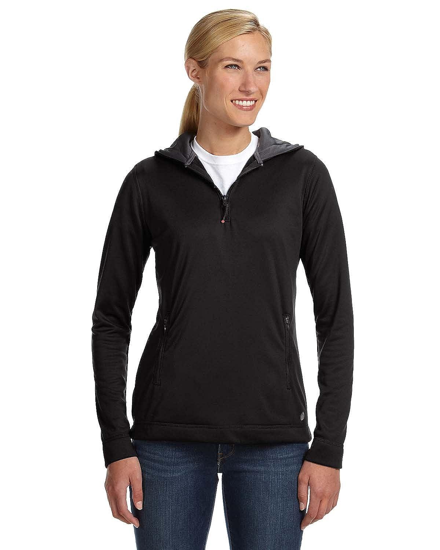 Russell Athletic womens Tech Fleece Quarter-Zip Pullover Hood FS8EFX