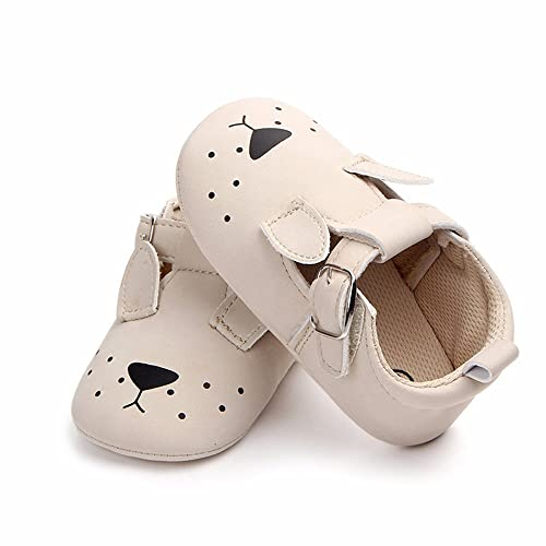 dd009eb76 Amazon.com | HONGTEYA Baby Moccasins - Boys Girls Sandals Animal Soft Soled  Non-Slip Infant First Walkers Toddler Crib Shoes | Slippers