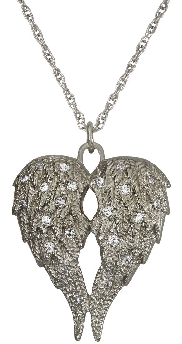 Memorial Gallery Pets MG-3194s My Angel Sterling Silver Pet Companion Urn