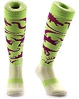 Samson Hosiery ® DINOSAURS Print Funky Novelty Fashion Gift Socks Football Rugby Sports And Casual Knee High Socks For Men Women Kids Unisex