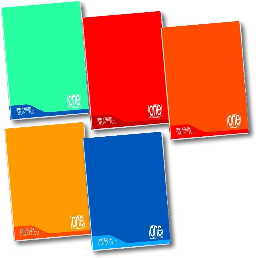 disortografia One Color 100 gr disgrafia 6 Quaderni Maxi Blasetti Didattico per dislessia 18+1 rigo Q