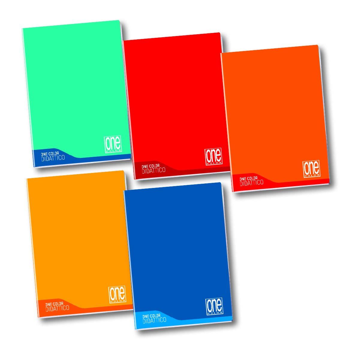disortografia One Color 100 gr disgrafia 18+1 rigo 10M Maxi Blasetti Didattico per dislessia 6 Quaderni