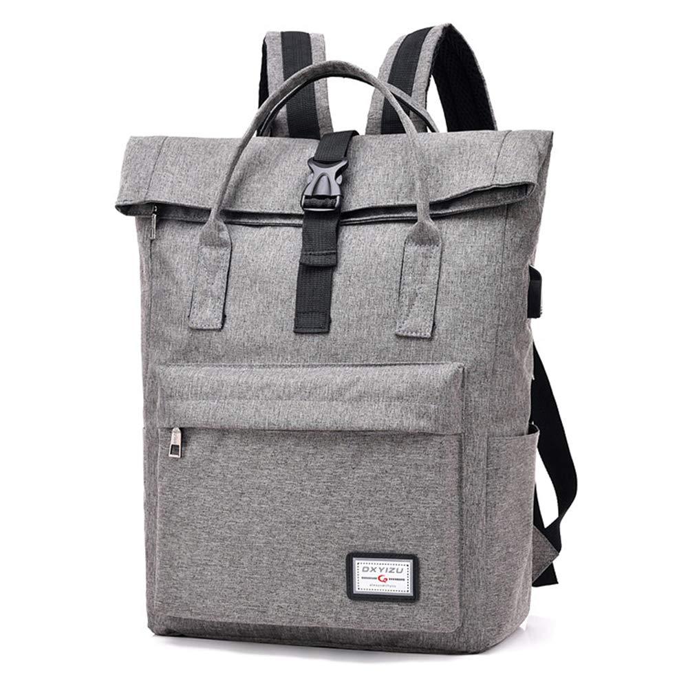 Lixada Zaino Borsa per Portatile dal avoro Water Repellent Travel Casual Daypack con Porta USB