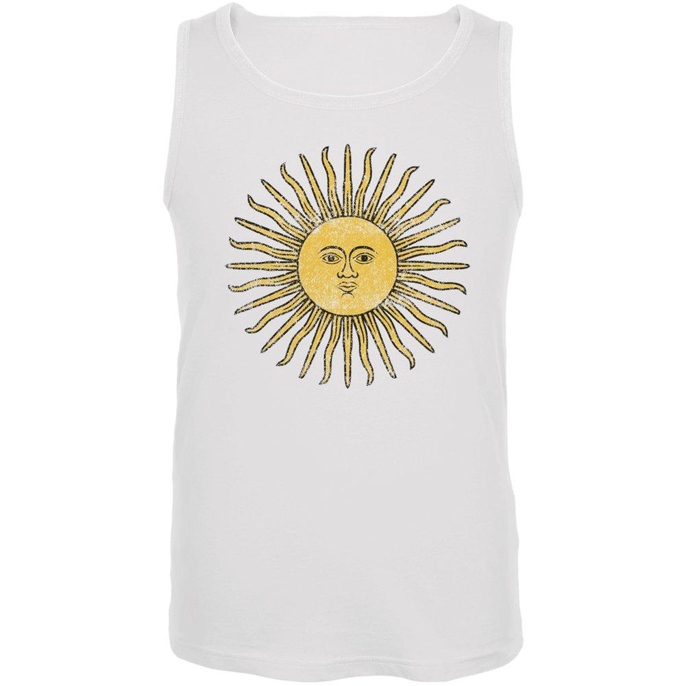Argentinien Sonne von kann weiß Fußball Tank Top
