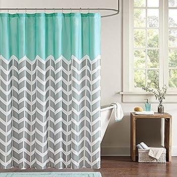 On Sale BravoVision Fashion Custom Blue Seashore Waterproof Fabric Bath Shower Curtain 36 X 72