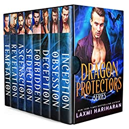 Dragon Protectors Boxed Set: Dragon Shifter Alpha Warrior Fated Mates Romance by [Hariharan, Laxmi]