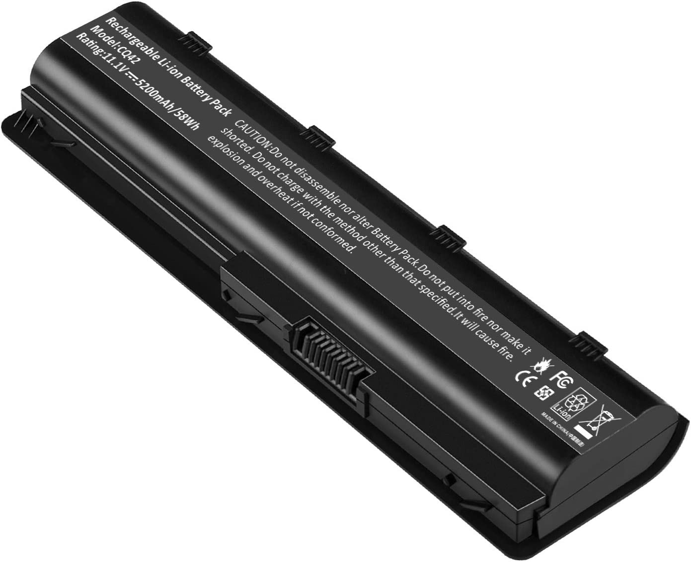 Replacement Battery for HP Spare 593553-001, HP Compaq Presario CQ32 CQ42 CQ43, HP Pavilion dm4 g4 g6 g7 DV3-4000 DV5-2000 DV6-3000 DV7-6000, COMPAQ 435 436, fits HP MU06 (General Battery)