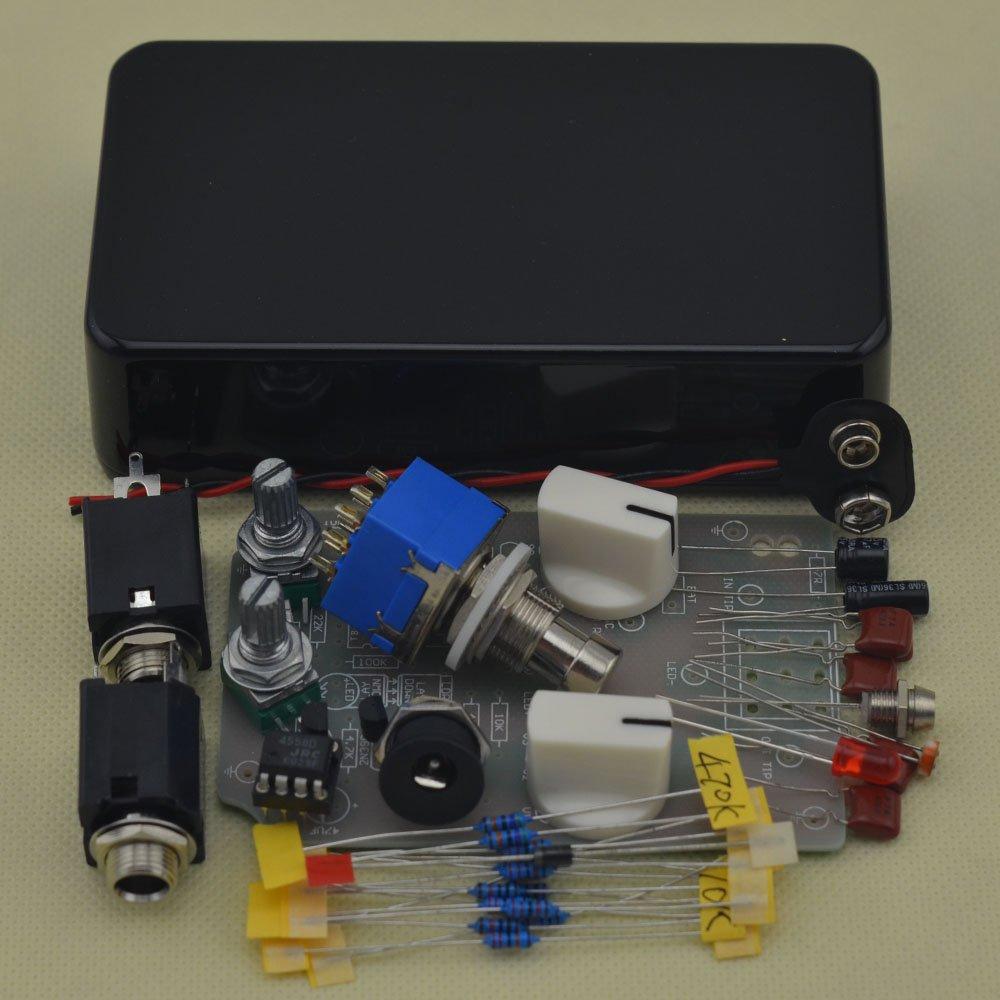 DIY Compressor Effect Pedal All Kits With 1590B Black by TTONE