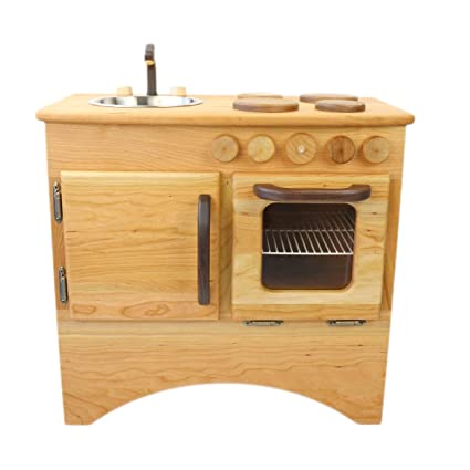 Camden Rose Beautiful Hearth (Childu0027s Cherry Wood Play Kitchen, Without  Hutch)