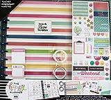 2018-2019 BIG Happy Planner Box Kit, Teacher Edition - Simple Brights - Big Teacher Planner, Create 365 Teacher Planner, Mambi Teacher Planner