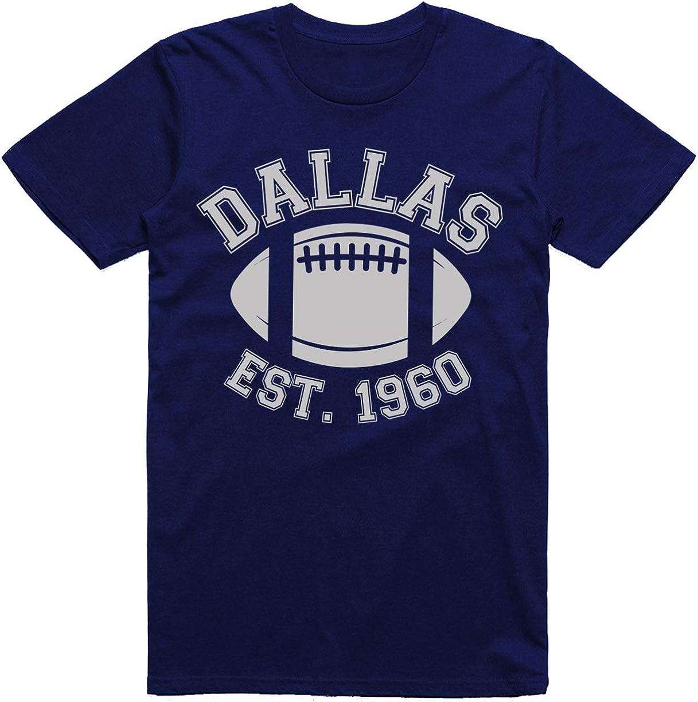 Wishful Inking Football Est. 1960 Arch Vintage Style Classic Dri-Power Adult T-Shirt