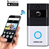 WiFi Wireless Video Doorbell with 8G Memory Storage and Two-Way Talk, Smart Door bell Security Cemera Wireless with PIR Motion Detection, Day and Night Mode Automatic Swithching (1)