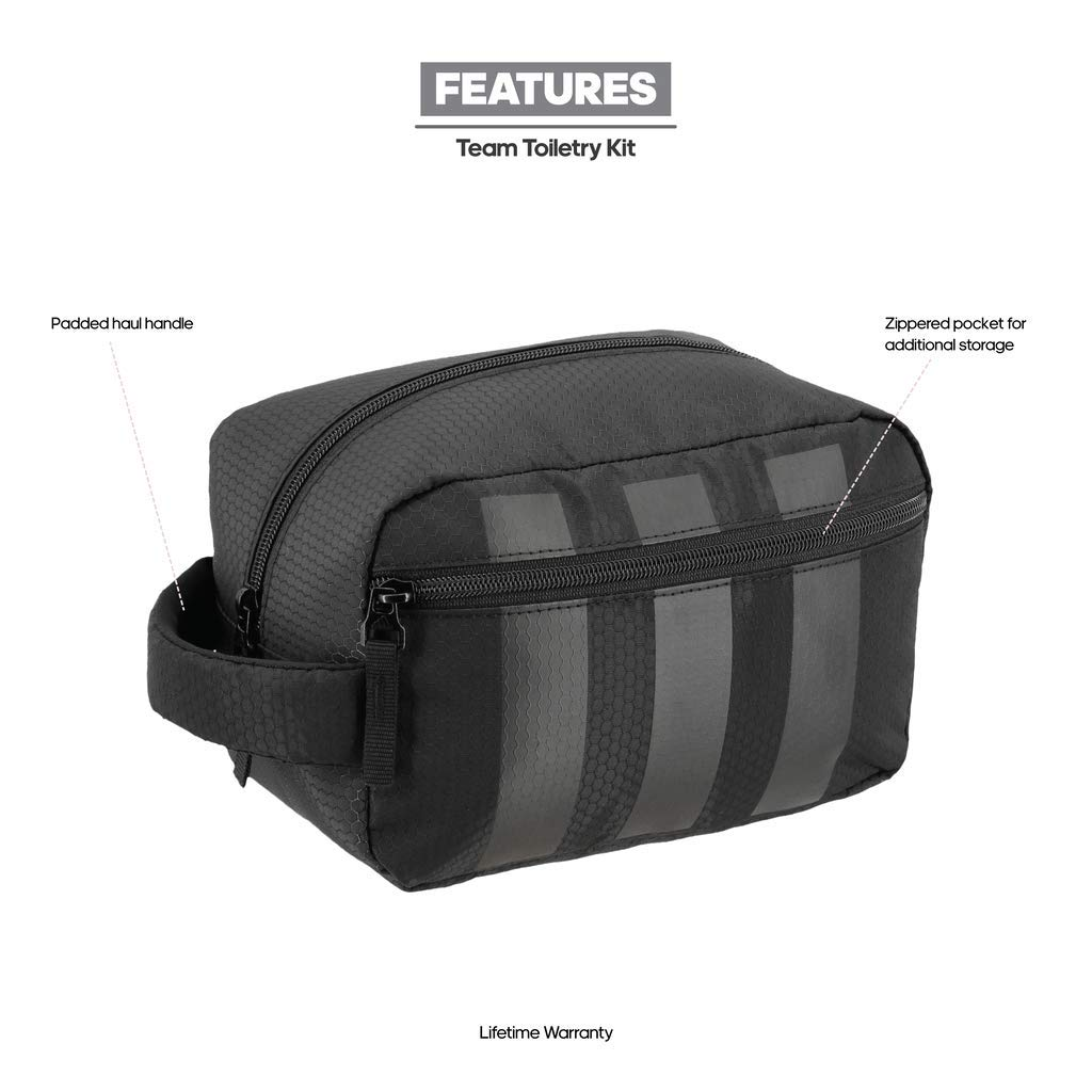 f5db4a55def4 Amazon.com  adidas Team Toiletry Kit Bag