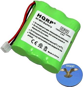 HQRP Batería para AT&T, Lucent 9340, 9341, 9345, 9350, 9351, 9353 Teléfono inalámbrico + HQRP Posavasos: Amazon.es: Electrónica