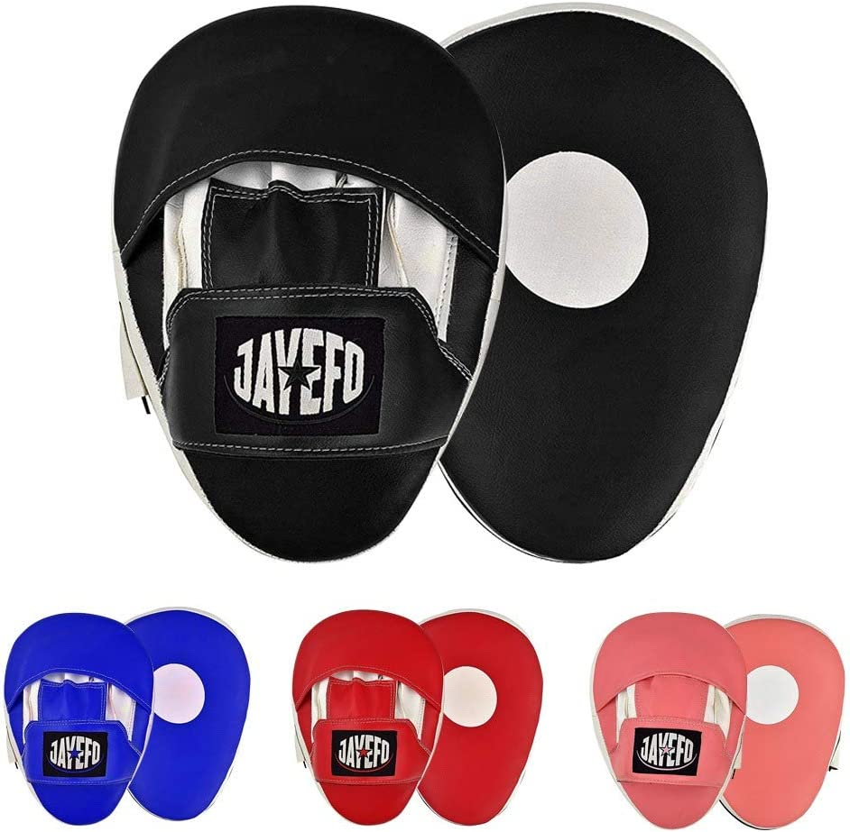 Jayefo Punching Mitts Focus Target Pads for{Focus Mitts}{Punch Mitts} {Kickboxing} { Muay Thai Punch } {Speed Training} { MMA Martial Arts} { Boxing Training} for Youth Men /& Women {Come AS Pair}