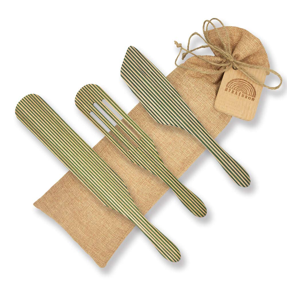 Easy Spreading Angled Spurtle and Gift Message Board Spurtle Slotted Spurtle Best Cooking Utensil Tool Green MYRAINBOW Pakkawood Spurtle Set Utensils Stirring Spatula Spoon