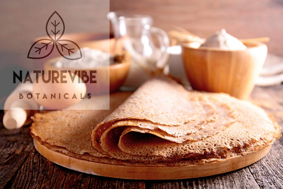 Naturevibe Botanicals Buckwheat Flour (2lbs) | Gluten Free & Non GMO | Helps Weight Loss. by Naturevibe Botanicals