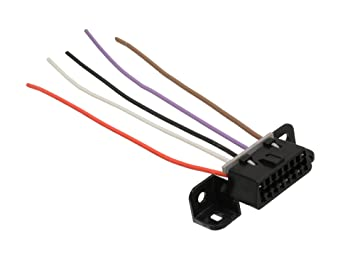 61t4J573 4L._SX355_ amazon com michigan motorsports obdii obd2 wiring harness OEM Automotive Wiring Harnesses at bayanpartner.co