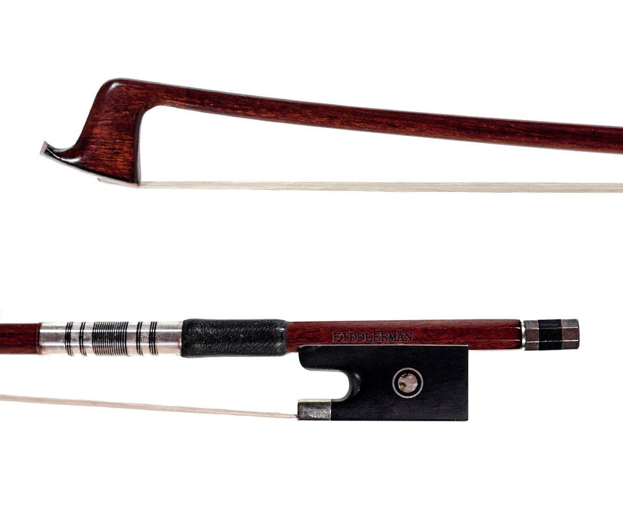 Fiddlerman Wood and Carbon Fiber Hybrid Violin Bow 4/4