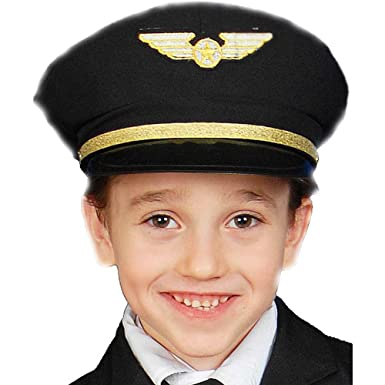 Amazon.com  Dress Up America Little Kids Pilot Hat 7c92630360a8