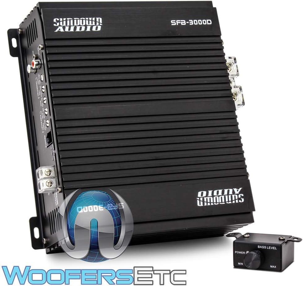 SFB-1000D Sundown Audio Monoblock 1410w RMS Amplifier
