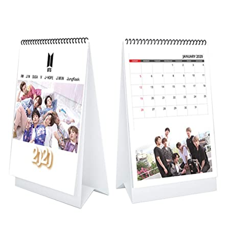 FeiGong - Calendario de mesa de fotos de temporada 2020 2021 BTS ...