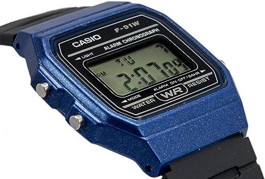 Casio Mixte Adulte Digital Quartz Montre avec Bracelet en  fq9HD