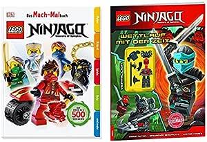 Lego® ninjagotm el Mach de libro para colorear + Lego