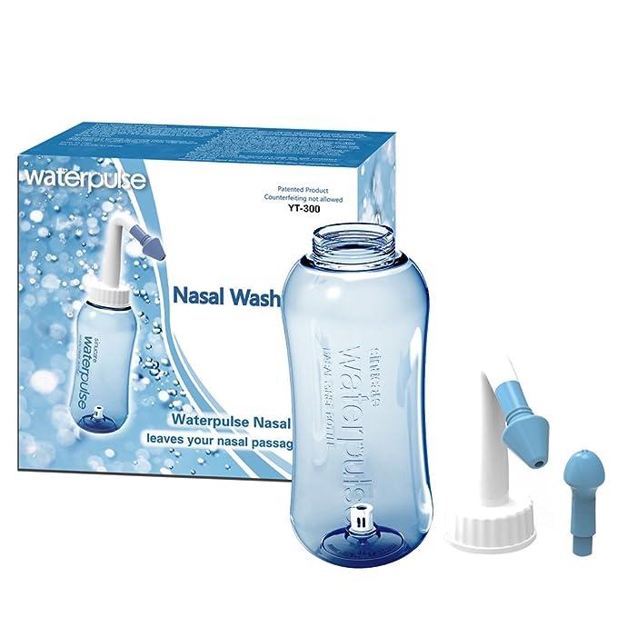Botella de Lavado Nasal Yoga Nasal Botella Nariz Limpiador ...