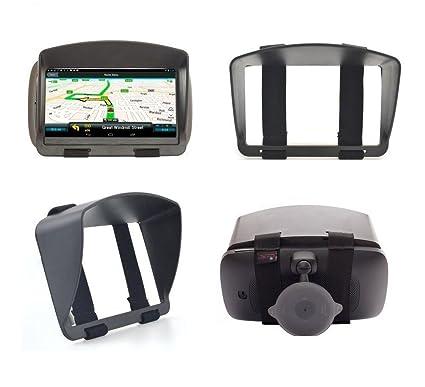 SunShade & Night Anti Reflection Visor For 6 Inch 6'' GPS Garmin Drive  DriveSmart 60LM 60LMT Drive 61 61LM RV 660LMT Nuvi 68 67 2639LMT 2639 Fleet  670