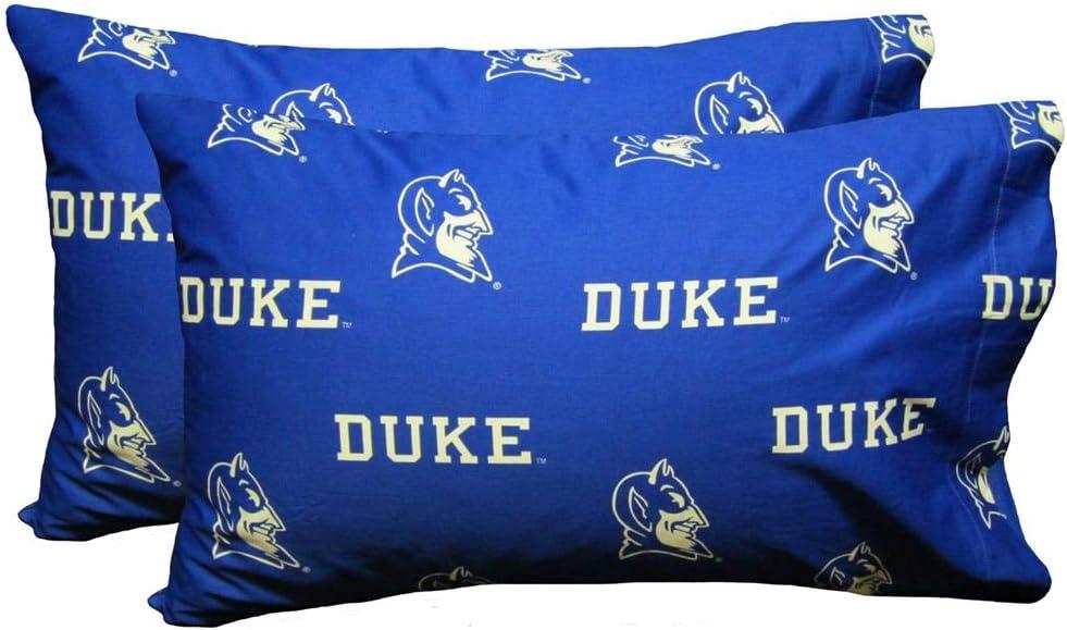 Duke University Blue Devils Sheet Set Team Color Cotton Sheets