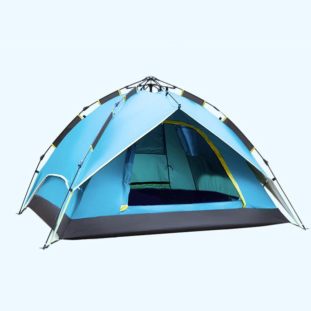 TENT-L ZP Zelt, automatische regendicht Familie Outdoor Camping Zelt huwaizhangpeng (Farbe : 2)