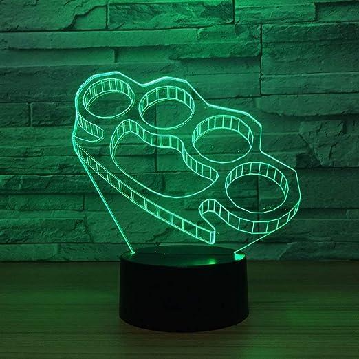Acryl Fernbedienung 3D LED Lampe Modern Nachtlicht Basis Dekorativ USB Kabel