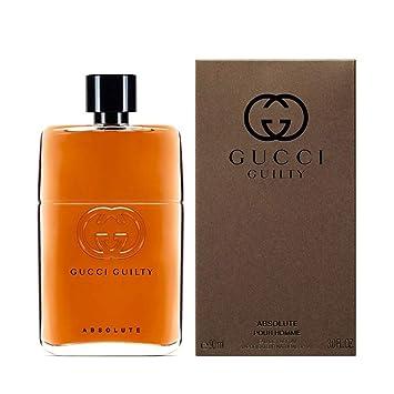 7efcfb3b6c Amazon.com : Gucci Guilty Absolute Pour Homme Eau De Parfum Spray 3 FL.  OZ./90 ml : Beauty