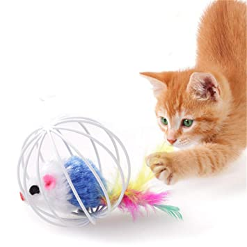 Amazon.com: HBK Animal Products Mascotas Gatos Juguete ...